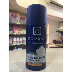 Kem Bọt Cạo Râu Romano Force 175Ml
