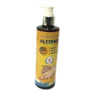 Gel rửa tay khô diệt khuẩn ALCOHOL 250ml - Bao bì mới - BH719 thumbnail
