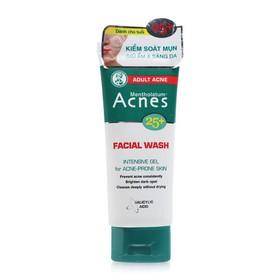 Gel rửa mặt ngừa mụn dành cho tuổi 25 Acnes 25 Facial Wash 100g - acnes