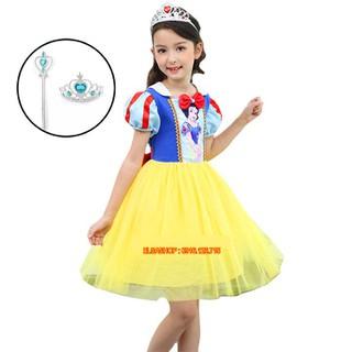 Váy Bạch Tuyết - Váy Công Chúa Bạch Tuyết
