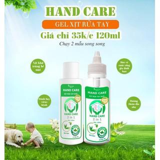 nước rửa tay khô sát khuẩn 120ml - nước rửa tay khô 120ml thumbnail