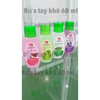 Gel rửa tay khô Sát Khuẩn ML handshing 60 ml - 1620 thumbnail