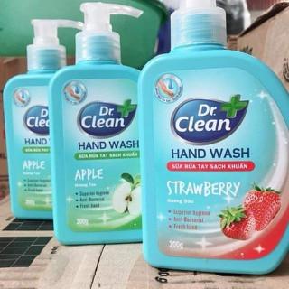 COMBO 3 CHAI NƯỚC RỬA TAY DR CLEAN - SẠCH VI KHUẨN VÀ MÙI HƯƠNG HOA DỄ CHỊU - NRTUUU777888 thumbnail