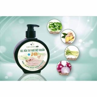 Hàng cty chính hãng - Gel Rửa Tay Khô Diệt Khuẩn 24h THIÊN NHIÊN VIỆT 300ml - Gel Rua tay Kho thumbnail