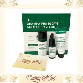 Set Mini dưỡng da, trị mụn Some By Mi AHA-BHA-PHA 30 Days Miracle Travel Kit - 3 món - Set3Mon-Somebymi