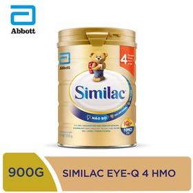 [Hà Nội] Sữa bột Similac IQ 4 HMO hương vani 900g - SIM016348