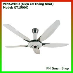 Quạt trần Vinawind 5 cánh có điều khiển