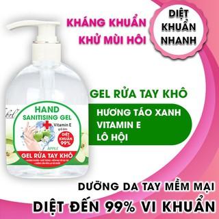 Nước rửa tay khô diệt khuẩn hương táo Thebol 450ml - RT001_1_1_m thumbnail
