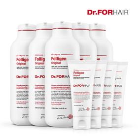 DR.FOR HAIR Folligen Original Shampoo_ ngăn ngừa rụng tóc, kích thích tóc mọc nhanh. - Dr for hair