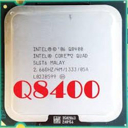 CPU Q8400, CHIP Q8400, CPU DÀNH CHO MAIN G31, HÀNG CHÍNH HÃNG, TẶNG KEO TẢN NHIỆT