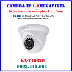 Camera IP 1Mp KBVISION KX-Y1002N, chip sony
