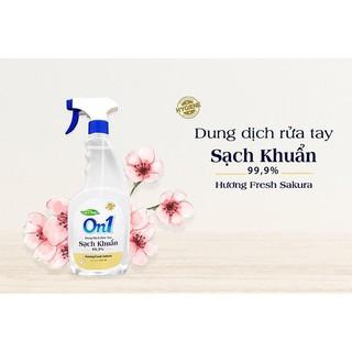 Dung dịch rửa tay khô On1 hương Fresh Sakura chai 650ml - On650 thumbnail