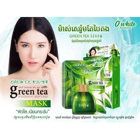 O'White mặt nạ trà xanh Thái Lan dưỡng trắng, ngừa nám - O'White