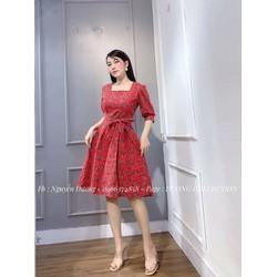 váy thô buộc eo