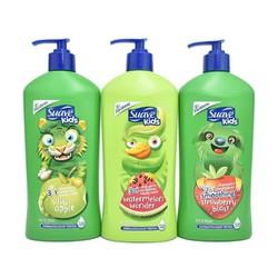 Sữa tắm gội xả Suave Kids 3 in 1 ( MỸ) 532 ml (Mẫu Mới)