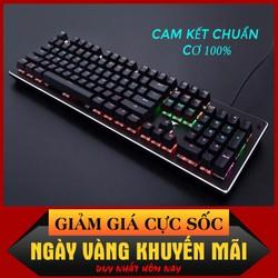 Bàn phím cơ Gaming K101 LED RGB Cao cấp