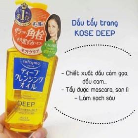 Dầu tẩy trang trị mụn dưỡng trắng Kosé 230ml hàng Nhật - SD2014
