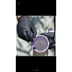 400 chiếc găng tay không bột nitrile đóng gói túi nilon