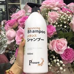 Dầu gội đặc trị gầu chống dầu, chống rụng tóc Prosee Balancing Shampoo AS14 1000ml