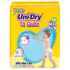 Tã quần Unidry size M74 - size L68 - size XL62 - size XXL56 - JUM-P