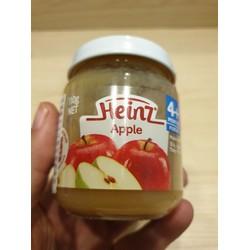 Dinh dưỡng đóng lọ Heinz vị táo nghiền 110g dành cho bé từ 4 tuổi