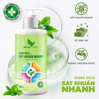 [Tặng 10k PVC] Dung dịch rửa tay khô sát khuẩn nhanh phòng chống Corona [Có Giấy Công Bố Chất Lượng Sản Phẩm] - 300ml - ruatay300 thumbnail