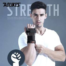 Găng tay quấn bảo vệ cổ tay-Găng tay quấn bảo vệ cổ tay - Aolikes AL1676-1 đôi