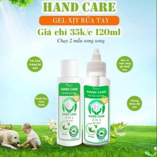 combo 5 chai nước rửa tay khô chai 120ml - combo 5 chai nước rửa tay khô thumbnail