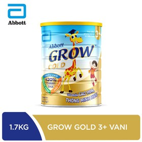 [Hà Nội] Sữa bột Abbott Grow Gold 3+hương vani 1.7kg - GRO016386