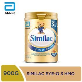 [Hà Nội] Sữa bột Similac IQ 3 HMO hương vani 900g - SIM016345