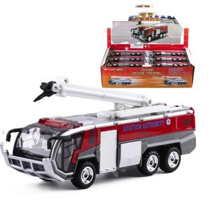 Xe cứu hỏa đồ chơi trẻ em xe có âm thanh và đèn bằng hợp kim và nhựa - cứu hỏa nhạc to thumbnail