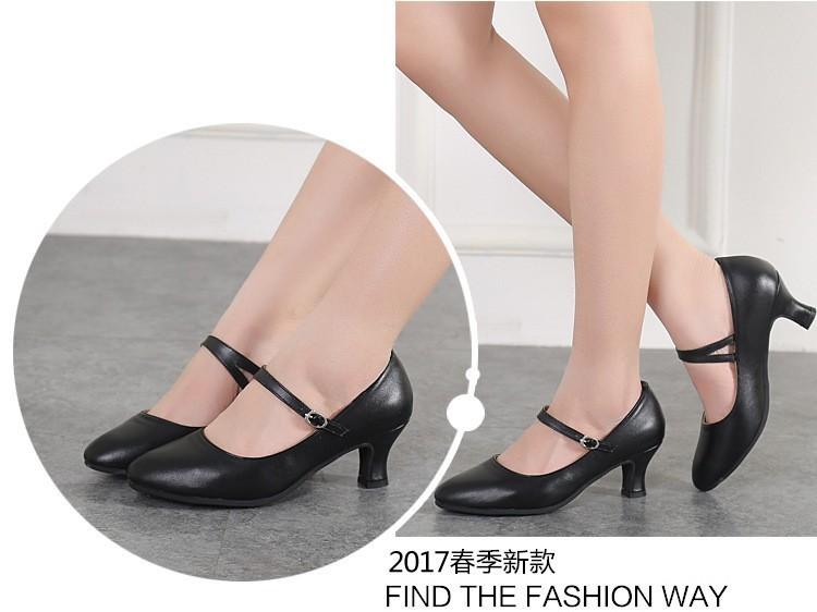 Giày khiêu vũ nữ LATINH cao cấp gót 5 cm