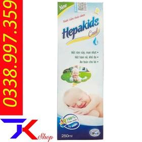 Sữa Tắm Thảo Dược Hepakids 250ml - kt12456