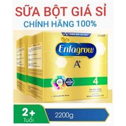 Bộ 2 Sữa Bột Enfagrow số 4 2200g hộp giấy Date 11-2020 - CHO