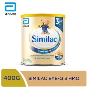 [Hà Nội] Sữa bột Similac IQ 3 HMO hương vani 400g - SIM016344