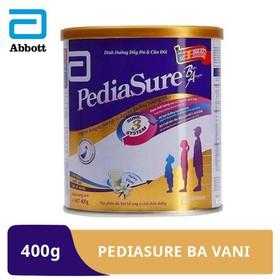 [Hà Nội] Sữa bột Pediasure BA hương vani 400g - PED016364