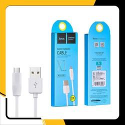 Dây cáp sạc điện thoại Hoco X1 USB to Type C - Chiều Dài 1M - chính hãng