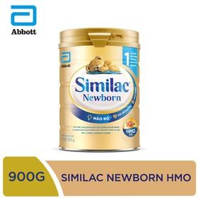 [Hà Nội] Sữa bột Similac Newborn IQ HMO 900g - SIM016341