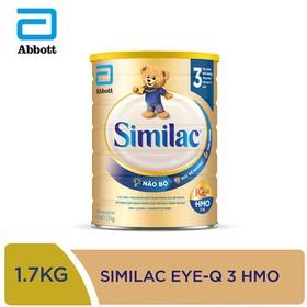 [Hà Nội] Sữa bột Similac IQ 3 HMO hương vani 1.7kg - SIM016346