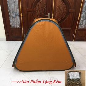 Lều Xông Hơi Tự Bung Sau Sinh Loại 1 Tặng Gói Xông Hơi Thảo Dược Màu Ngẫu Nhiên - leuonghoiloai1