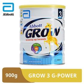 [Hà Nội] Sữa bột Abbott Grow 3 G-Power hương vani 900g - GRO016380