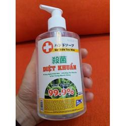 Nước rửa tay khô diệt khuẩn an toàn Mr. Fresh 500ml - dạng gel