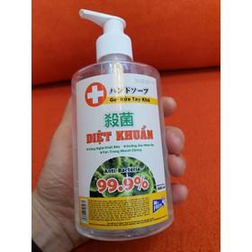 Nước rửa tay khô diệt khuẩn an toàn Mr. Fresh 500ml - dạng gel - BH0719