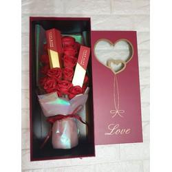 Hộp quà tặng bó hoa quà lưu niệm quà tặng quốc tế phụ nữ 8 tháng 3