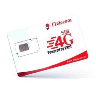 Sim 3G 4G Vinaphone Telecom 4G 90GB - sim 4g itelecom 11 thumbnail