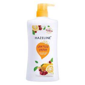 Sữa tắm Hazeline tẩy tế bào chết 900g - Hazeline cam 900ml