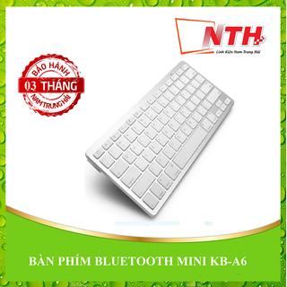 [FREESHIP] Bàn phím bluetooth Mini KB - A6 SỬ DỤNG CHO THIẾT BỊ CÓ BLUETOOTH [ĐƯỢC KIỂM HÀNG] 26064829 - 26064829 thumbnail