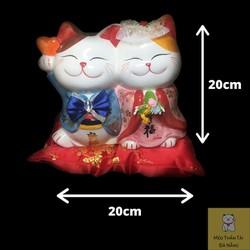 Mèo thần tài uyên ương M920