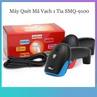 Máy Quét Mã Vạch 1 Tia SMQ-9100 Có Dây - SMQ9100 thumbnail