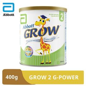 [Hà Nội] Sữa bột Abbott Grow 2 G-Power 400g - GRO016377